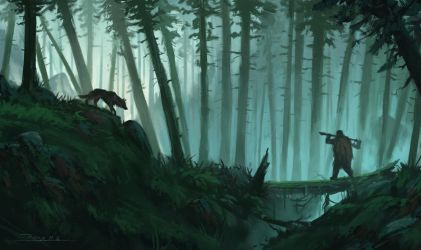 forest by draken4o