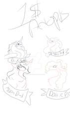 Here is my adopt banner wip. by zombehprincess