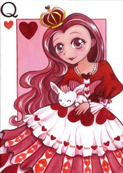 Queen of Hearts by lapicureuil