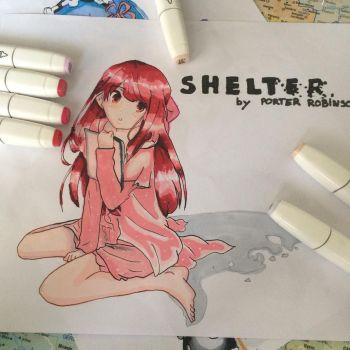 Shelter || by Porter Robinson by Liza-chaaan