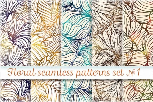 Floral patterns set by Hardia-999