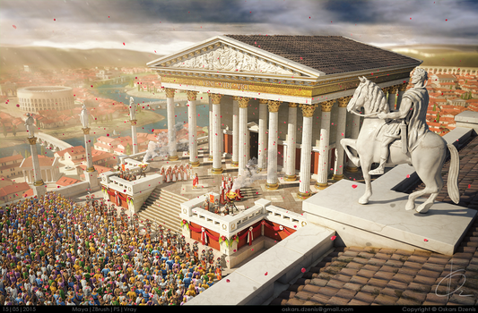 Blessed by the Gods (Ancient Rome competition) by OzzyY2KX