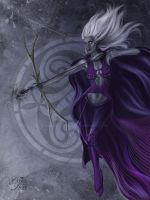 Drow Archer by CarrieBest