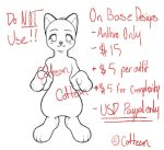 $15 Anthro Customs LIMITED - [OPEN] by Cottean