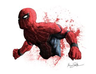 Civil War Spiderman by Iantoy