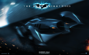 The Dark Knight Rises Batmobile by wizzoo7