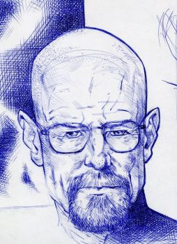 Breaking Bad, Walter White by JERALDOLEWIS2