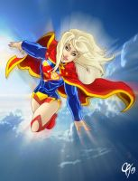 New 52 Supergirl by Cahnartist