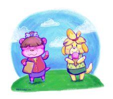 Animal Crossing cuties by bugbyte