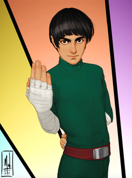 Rock Lee by Merwild