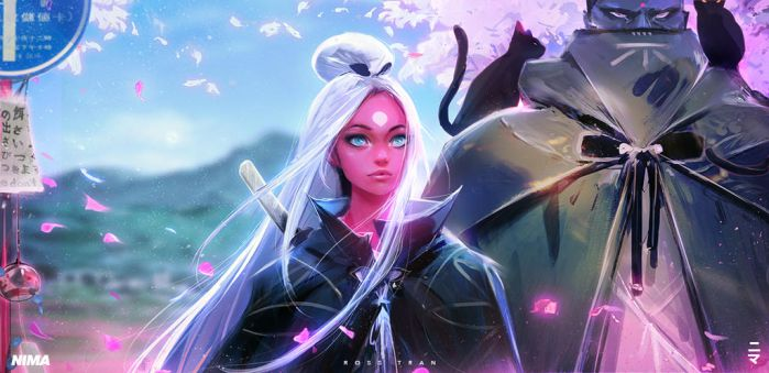 Nima Gaze by rossdraws