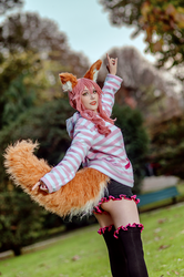Fate/Extra CCC - Tamamo (casual wear) 2 by KiaraBerry