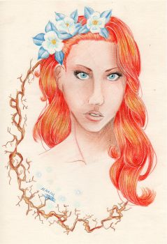 Viktoria : The Red-Haided  Woman by Swanhilde