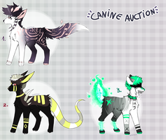 CLOSED - Canine Adoptables by LeaTenshi