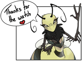 Thanks for the watch by SketchyBeeHive