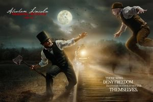 Abraham Lincoln Movie Poster 2 by TheMaddhattR