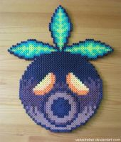 Deku Mask - Perler Beads by VelvetRebel