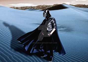 photomaniuplation myself as darth vader by ehlizeka