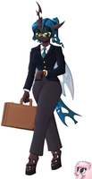 Queen of Business by DeusExEquus