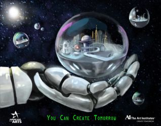 You Can Create Tomorrow by girfreak8
