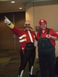 Meeting Mario! by linkinspirit95