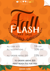 Fall Flash 2017 Design by yevvie