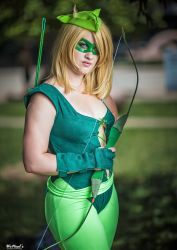 Female Green Arrow Cosplay Olivia Queen by St3phBot