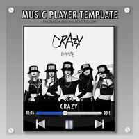 MP3 Player Template by hyunasia
