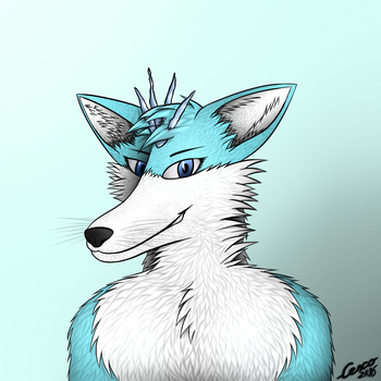 Serence Frostbite portrait by CescoCat