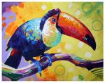 Toucan by TooMuchColor