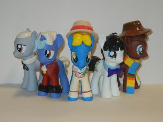 The Five Doctors by SilverBand7