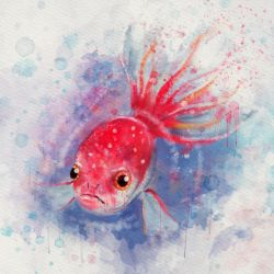 Water Color photoshop cs6 by edespitia