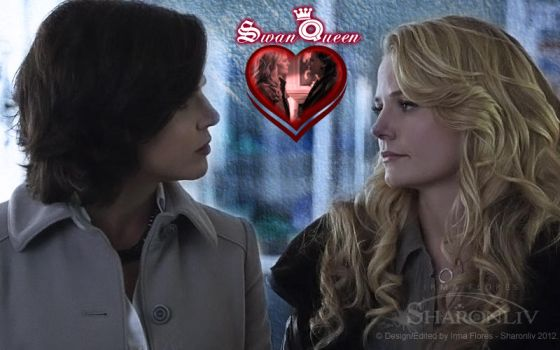 Regina and Emma - SwanQueen by Sharonliv-Arzets