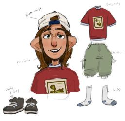 JET Sketch - Neighborhood Kid by AnimatedJet