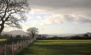 Field over Conwy 2 by MakinMagic