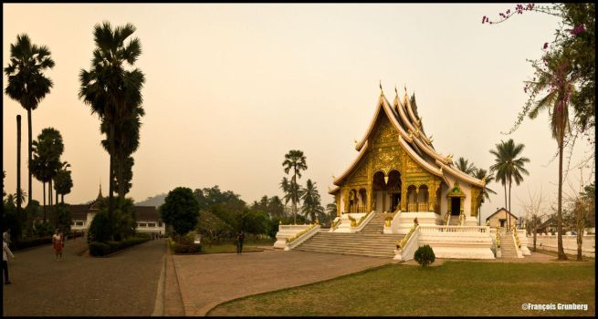 Luang Prabang temple by partoftime