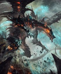 Dragon King of destruction by antilous