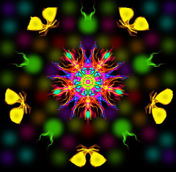 Jewel-Flower Contest of the Moths by Smartstocks
