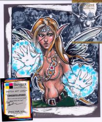 Fairy Magic - z-sketch card by dsilvabarred