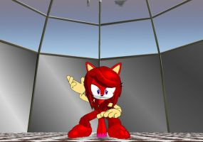 -MMD- Ruby the red fox 2 by mitchika2