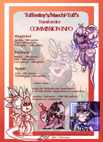 [TFM] Commission Info Sheet 2018 by Maechi-Toff