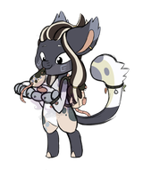Hello little friend! [Gift] by RavenSongLullaby