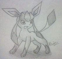 Glaceon 3 by BluuKiss