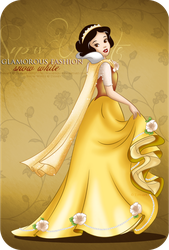 Glamorous Fashion - Snow White by tiffanymarsou