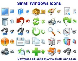 Small Windows Icons by shockvideo