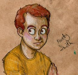 Morty scetch by LeenaKill