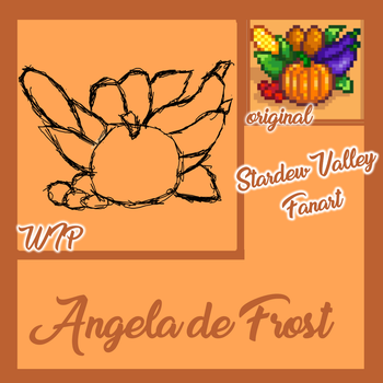 Fall Crops from Stardew Valley by angeladefrost