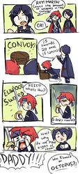 -001- Eliwood's Swords by mallowboo
