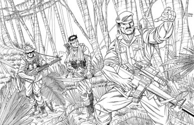 GI Joe LRRP Inks by JohnJett