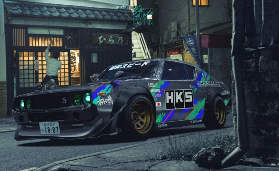 HKS KPGC110 by Nism088